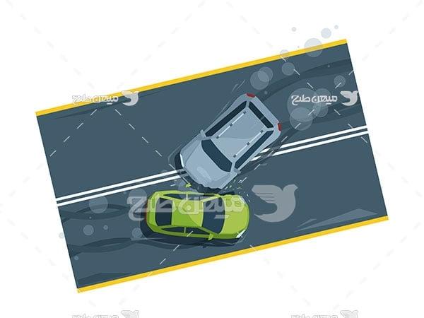 وکتور تصادف رانندگی