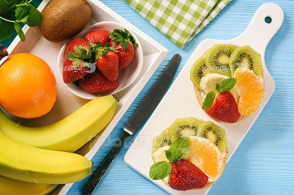 عکس تبلیغاتی غذا میوه