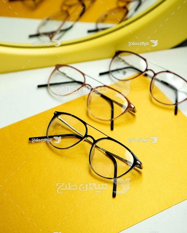 عکس عینک فروشی