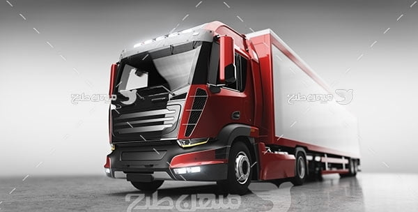 عکس کامیون تریلر حمل بار