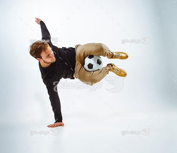 عکس مرد فوتبالیست