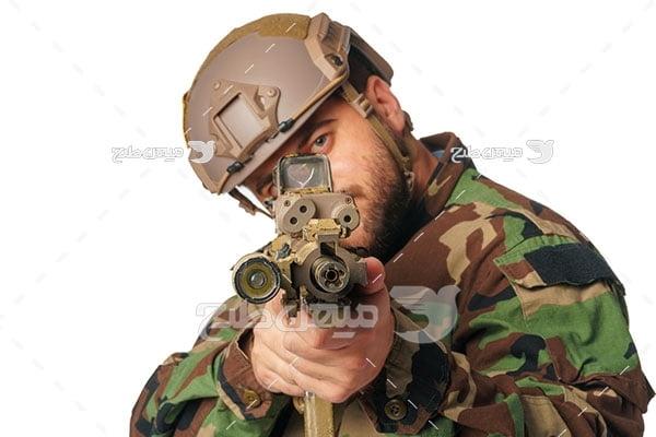 عکس نیروی مسلح نظامی