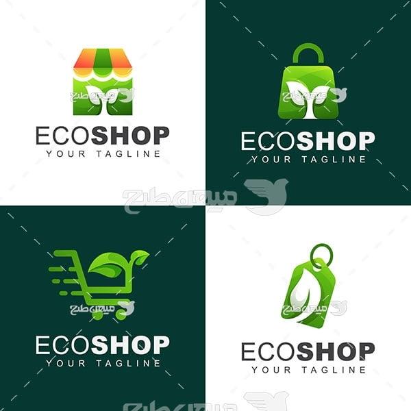 لوگو و آیکن فروشگاه سازگاری با محیط زیست