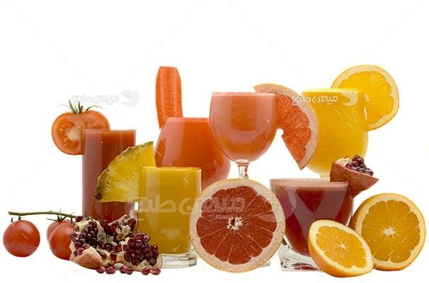 عکس تبلیغاتی غذا و نوشیدنی طبیعی