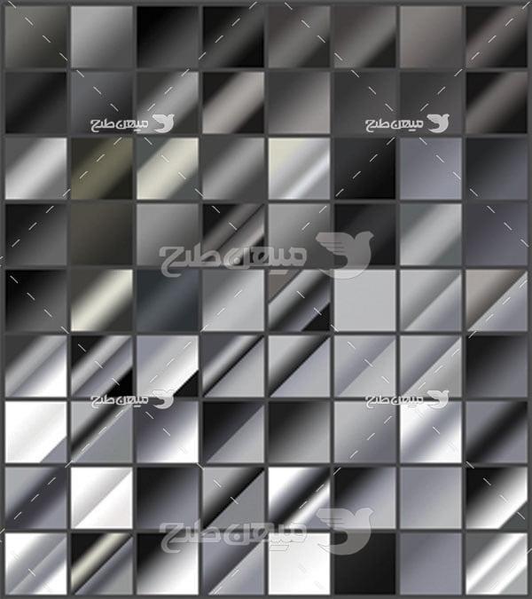 مجموعه ابزارهای فتوشاپ گرادینت مورب سیاه و سفید