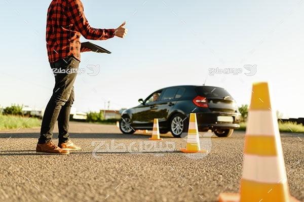 عکس آموزش رانندگی