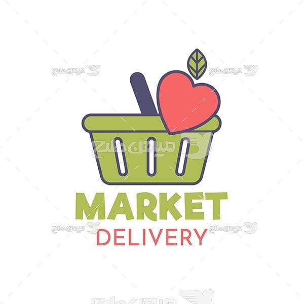 لوگو و آیکن فروشگاه مواد غذایی