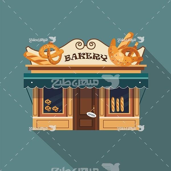 وکتور نانوایی