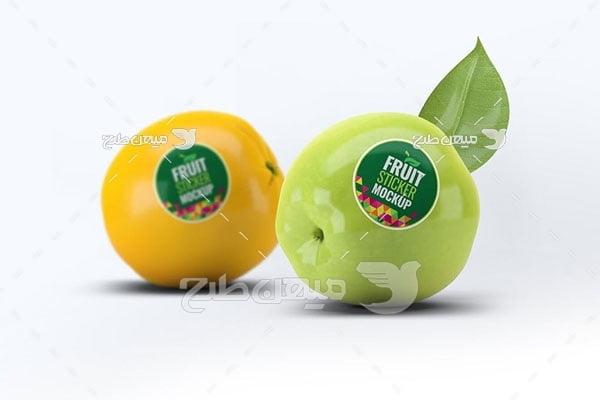 موکاپ برند میوه