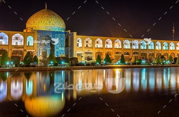 عکس پل شیخ الطف الله اصفهان