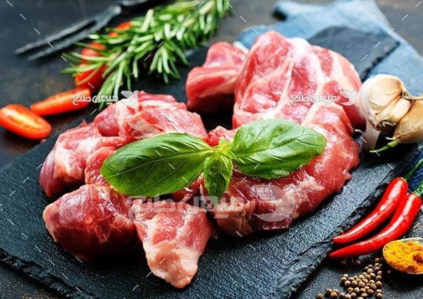 عکس گوشت راسته گاو