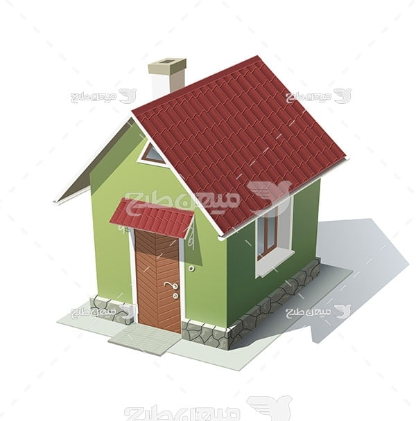 وکتور خانه سقف شیروانی