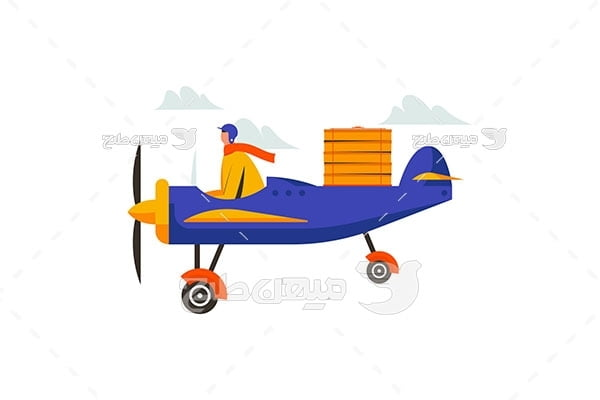 وکتور هواپیمای تک سرنشین