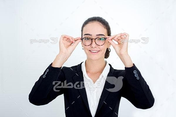 عکس تبلیغات عینک طبی