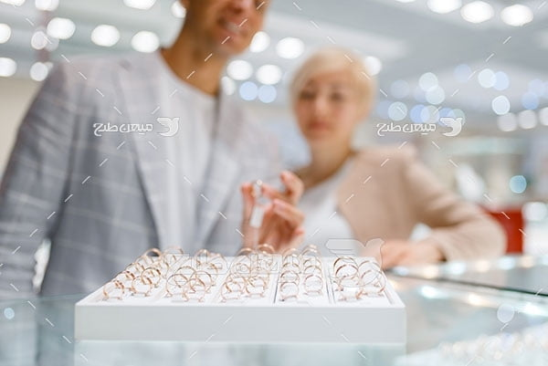 عکس جواهر فروشی