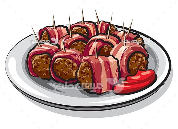 وکتور کوفته گوشت