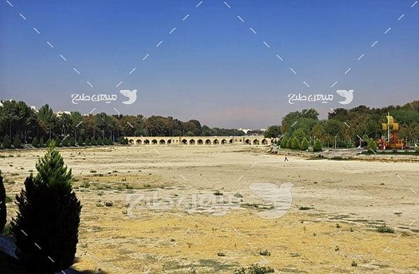 عکس پل زاینده رود اصفهان