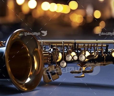 عکس تبلیغاتی آلات موسیقی