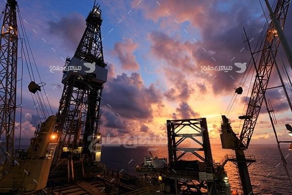 عکس سکوی استخراج نفت خام