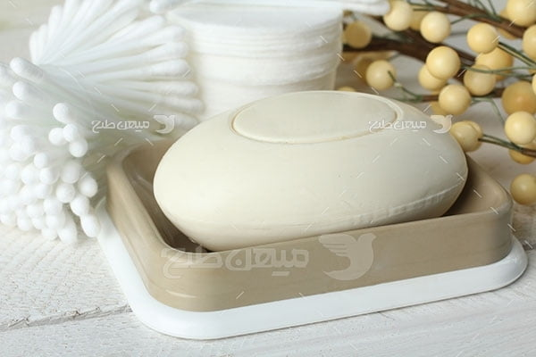 عکس تبلیغاتی بهداشت صابون