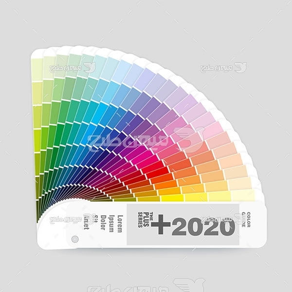 وکتور کاتالوگ راهنمای رنگ