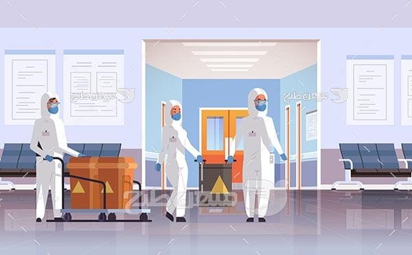 وکتور ضدعفونی بیمارستان ها