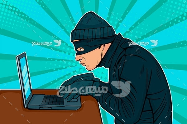 وکتور هک کردن اطلاعات