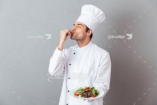 عکس آشپز موفق