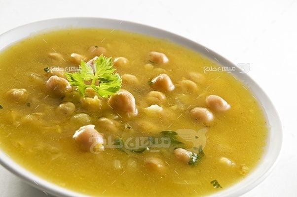 عکس تبلیغاتی غذا سوپ نخود