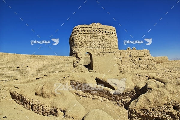 عکس اماکن باستانی میبد یزد