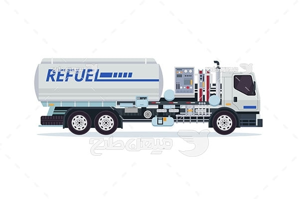 وکتور کامیون حمل سوخت
