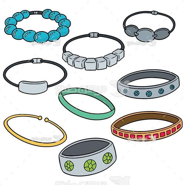 وکتور انواع دستبند