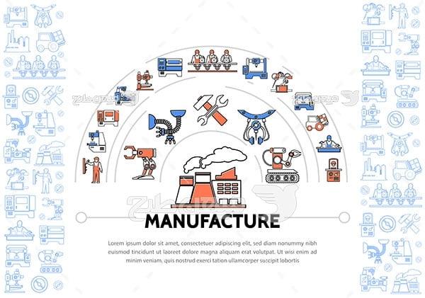 آیکن ساخت و تولید