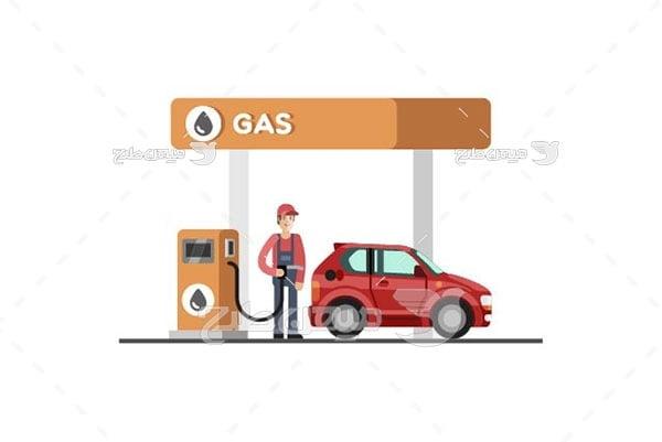 وکتور سوخت گیری خودرو