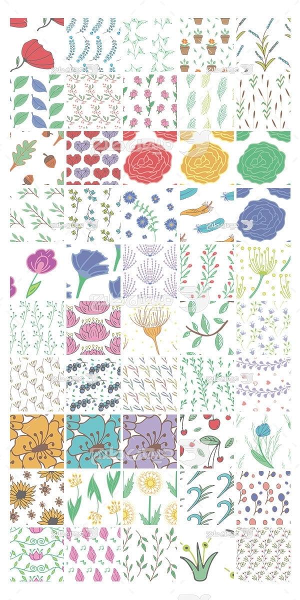 وکتور کاراکتربک گراند طرح گل