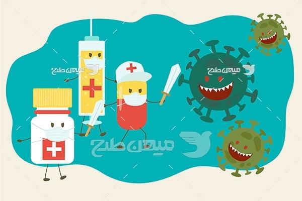 وکتور واکسن مبارزه با کرونا