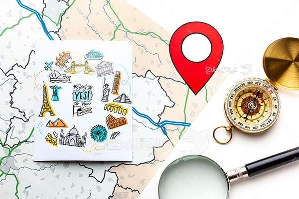 عکس تبلیغاتی جهانگردی و گردشگری