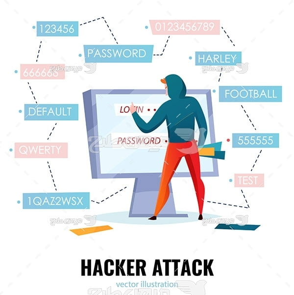 وکتور حمله هکرها
