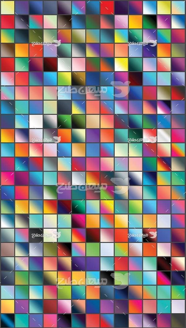 مجموعه ابزارهای فتوشاپ گرادینت رنگارنگ
