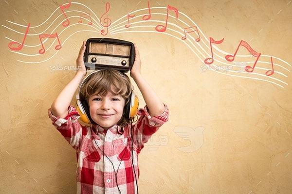 عکس تبلیغاتی موسیقی رادیو