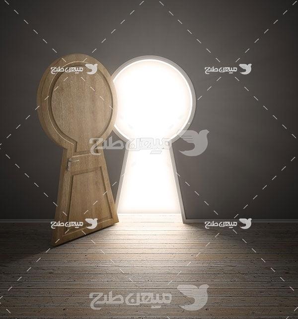 عکس درب به سوی نور