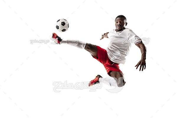 عکس حرکت فوتبال