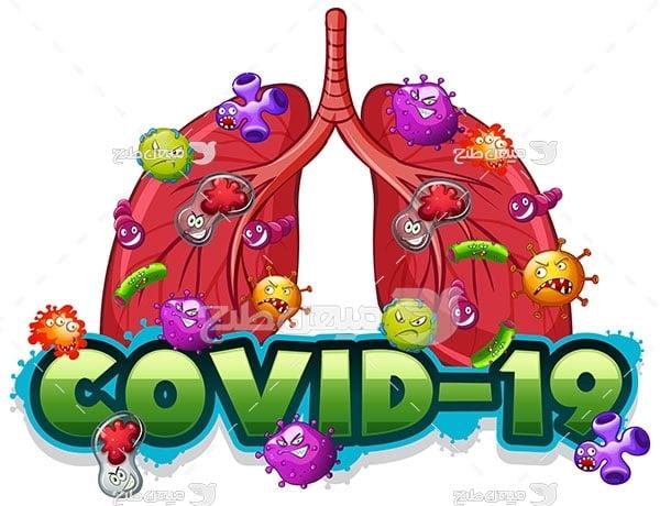 وکتور کووید 19 ویروس تنفسی