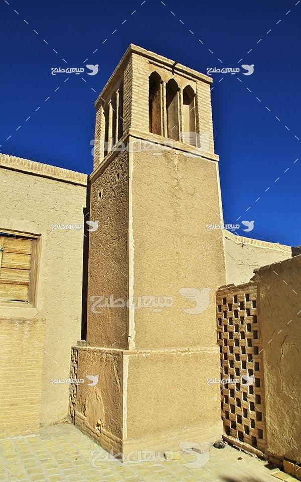 عکس شهر متروکه نایین