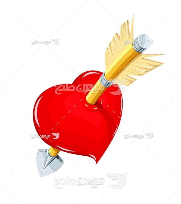 وکتور تیر در قلب