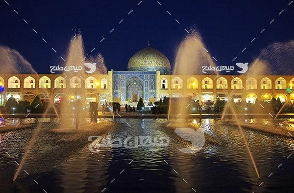 عکس شهر باستانی اصفهان