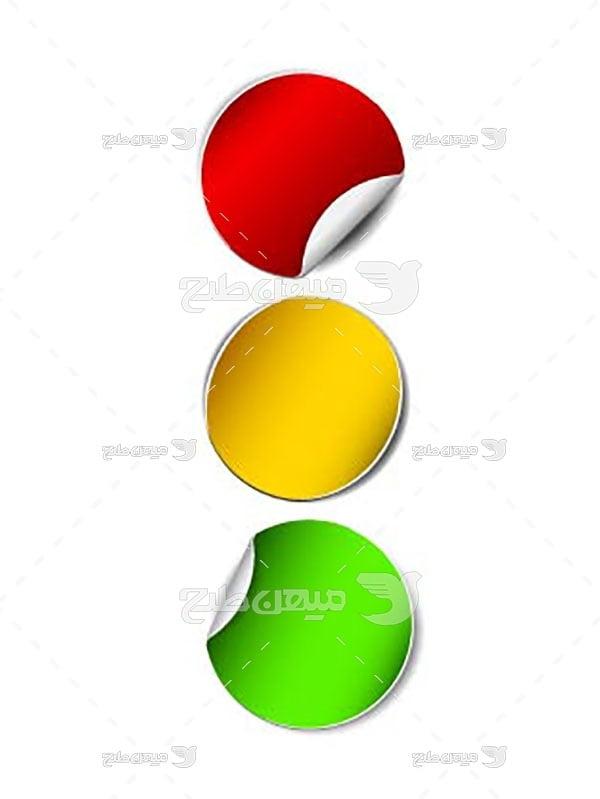 وکتور دایره رنگی