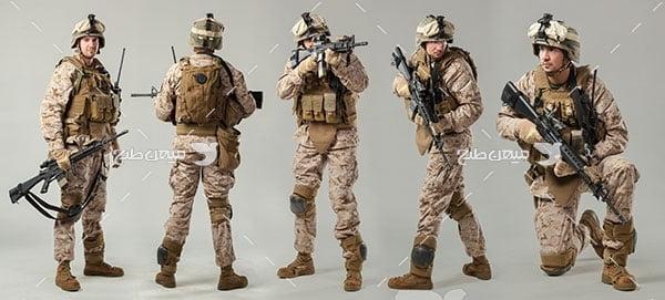 عکس نیروهای مسلح نظامی