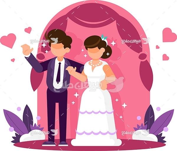 وکتور مراسم ازدواج