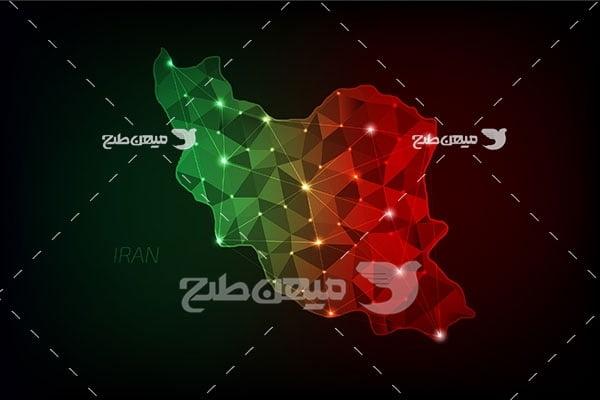 وکتور کشور ایران